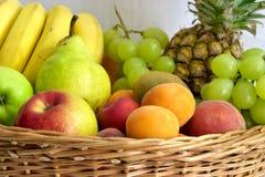 Fruits gathering Stock Photo