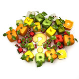 fruits gmo Стоковые Фотографии RF