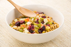 Fruits Granola Stock Photos