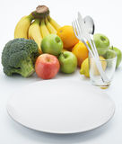 Fruits for healthy stock photography