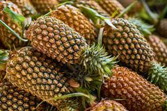 Fruits. Healthy Raw Food. Organic Pineapples. Nutrition, Vitamin Royalty Free Stock Photography