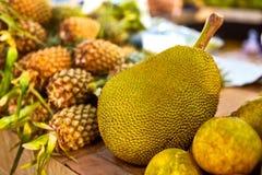 Fruits. Healthy Vegan Raw Food. Organic Ripe Jackfruit. Nutritio Royalty Free Stock Photo