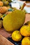 Fruits. Healthy Vegan Raw Food. Organic Ripe Jackfruit. Nutritio Royalty Free Stock Photography