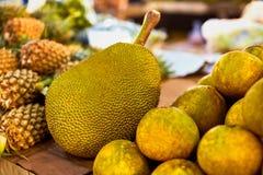 Fruits. Healthy Vegan Raw Food. Organic Ripe Jackfruit. Nutritio Stock Image