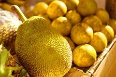 Fruits. Healthy Vegan Raw Food. Organic Ripe Jackfruit. Nutritio Stock Photo