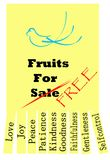 Fruits of the Holy Spirit Stock Images