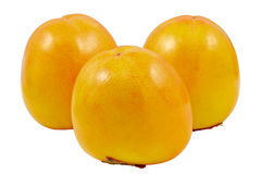 Fruits of hurma Royalty Free Stock Images