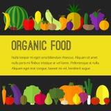 Fruits, icônes de légumes Images stock