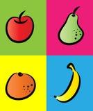 Fruits icon Stock Photos