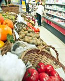 Fruits In Supermarket Stock Images