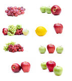 Fruits isolated. Collection of an isolated fruits Stock Photo