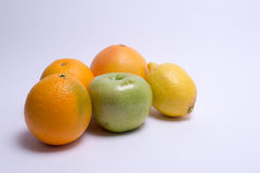 Fruits isolated on a white background. Selective focus Stock Images
