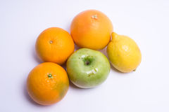 Fruits isolated on a white background. Selective focus Stock Photo
