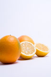Fruits isolated on a white background. Selective focus Stock Photography