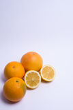 Fruits isolated on a white background. Selective focus Royalty Free Stock Photo