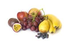 Fruits isolates on white Royalty Free Stock Images