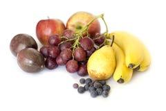 Fruits isolates on white Stock Image
