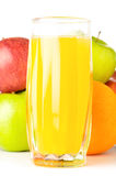 Fruits with juice Royalty Free Stock Image