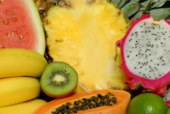 Fruits juteux Photos stock