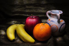 Fruits light painting Royalty Free Stock Images
