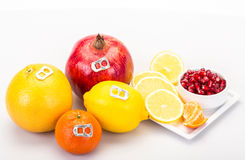 Fruits like can drinks Royalty Free Stock Photo
