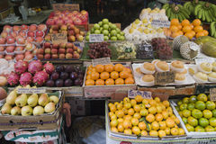 Fruits in local market in Bangkok, Thailand Royalty Free Stock Photography