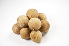 Fruits of the Longan-tree Stock Photos
