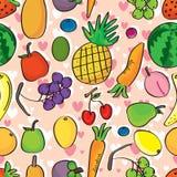 Fruits Love Seamless Pattern_eps Royalty Free Stock Photo