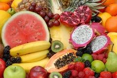 Fruits mélangés images stock