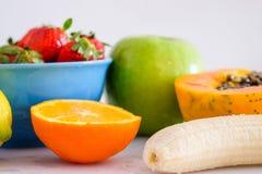 Fruits mélangés Photo libre de droits