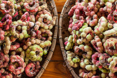 Manila tamarind fruits. Fruits Manila tamarind food in thailand Royalty Free Stock Images