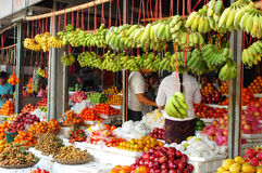 Fruits market Royalty Free Stock Photos