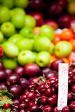 Fruits at market Stock Images