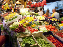 Fruits market Stock Photography