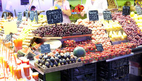 Fruits market Stock Photos