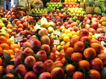 Fruits market Royalty Free Stock Photo