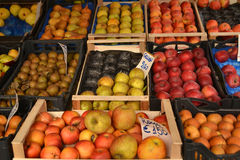 Fruits at the market Stock Photography