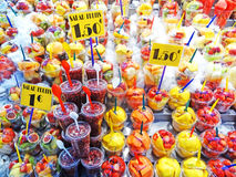 fruits at market stock photography