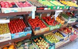 Fruits market Royalty Free Stock Photography