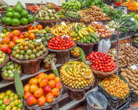 Fruits at a market Royalty Free Stock Images
