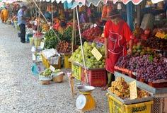 Fruits market Royalty Free Stock Photo