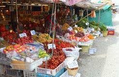 Fruits market Stock Photography
