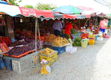Fruits market Stock Images