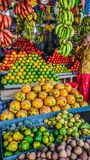 Fruits. Market shops royalty free stock photography