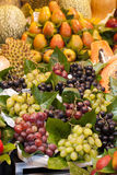 Fruits on the market stall Royalty Free Stock Image