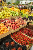 Fruits on the market Stock Photos