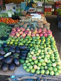 Fruits marketing. In Brasil Royalty Free Stock Images