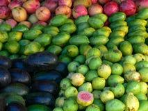 Fruits marketing. In Brasil stock image