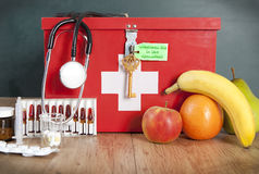 Fruits or Medicine Stock Photos