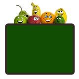 Fruits menu Royalty Free Stock Photos